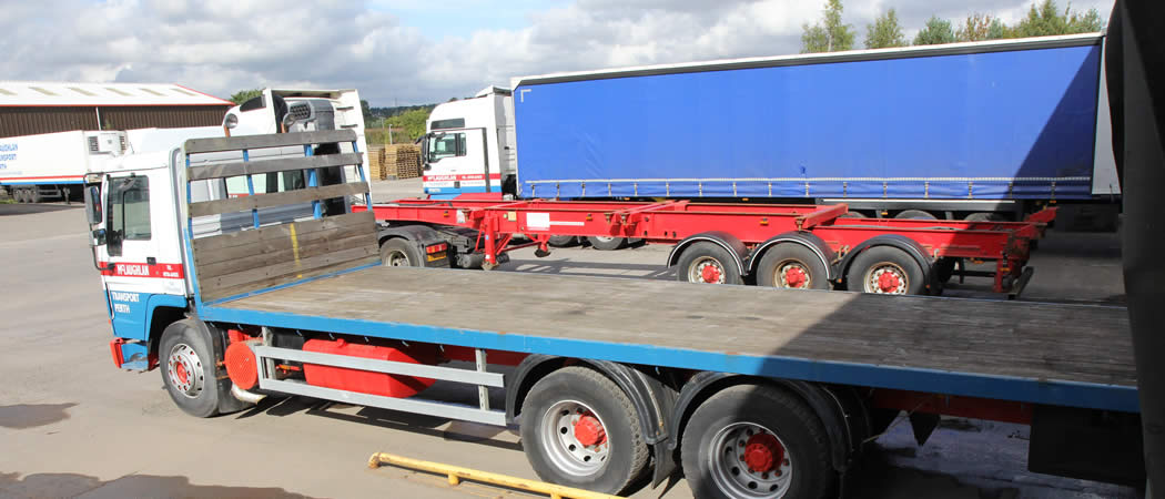Haulage and distribution company Perth Scotland