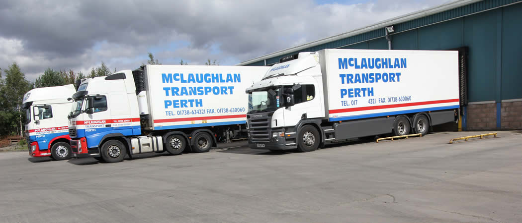 McLaughlan Transport, Cold storage, Perth Scotland